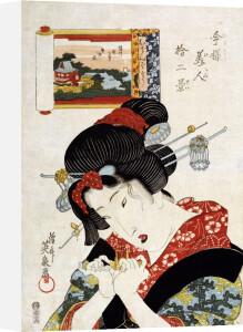 The Tomboy Type by Keisai Eisen