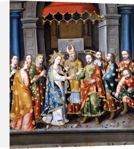 Marriage Of The Virgin by Esponsales de la Virgen