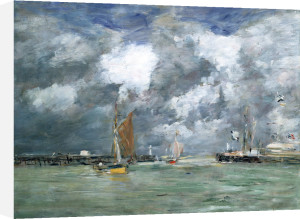 Trouville At High Tide by Christie's Images