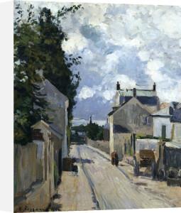 Rue De L'Hermitage Pontoise by Camille Pissarro