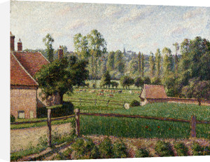 Meadow At Eragny by Camille Pissarro