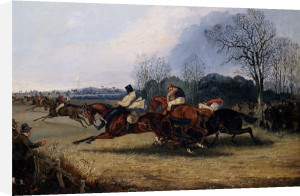 An Incident In The Wakefield Steeplechase by Henry Alken