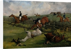The Grand Leicestershire Steeplechase by Henry Alken