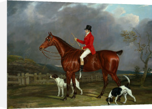 A Huntsman And Hounds by David Dalby of York