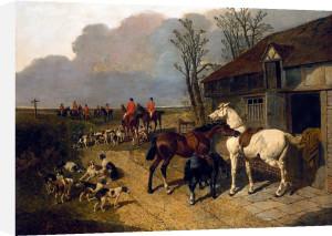 The Meet by John Frederick Herring