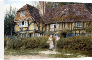 A Kentish Cottage by Helen Allingham