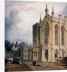 Cassiobury, West Front, Circa 1807 by Joseph Mallord William Turner