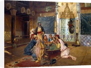 An Eastern Meal by Rudolf Ernst