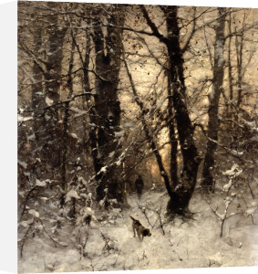 Winter Twilight by Ludvig Munthe