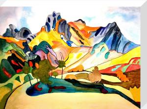 Langdale Pikes by Luisa Gaye Ayre