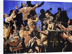 Duke Ellington and his band by John Wilsher