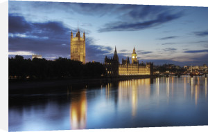 Westminster at Dusk by Christopher Holt