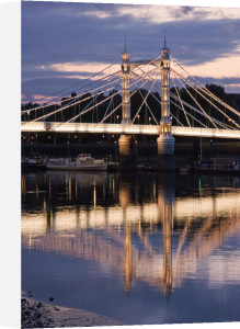 Albert Bridge at Dusk by Christopher Holt