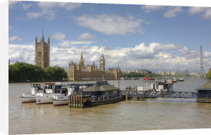 Thames at Westminster by Christopher Holt