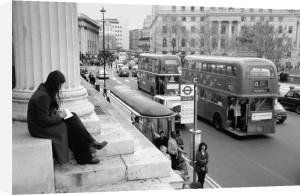 Trafalgar Square Postcard by Christopher Holt