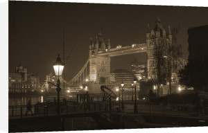 Old Timer Tower Bridge by Christopher Holt