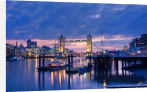 Tower Bridge at Dusk by Christopher Holt