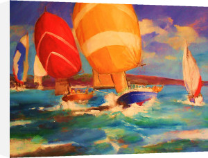Cowes Week by Martin Ulbricht