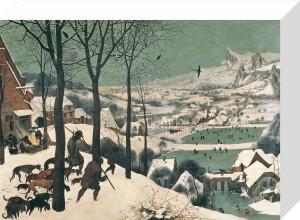 Hunters in the Snow, February 1565 by Pieter Brueghel The Elder
