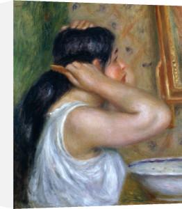 Girl Combing her Hair, 1907 by Pierre Auguste Renoir