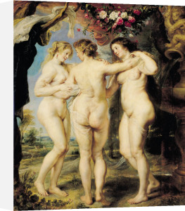 The Three Graces, c.1636 by Peter Paul Rubens