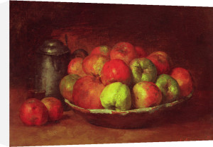 Still Life with Apples and a Pomegranate, 1871 by Gustave Courbet