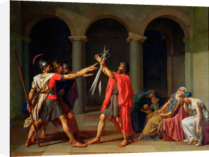 The Oath of the Horatii, 1784 by Jacques-Louis David
