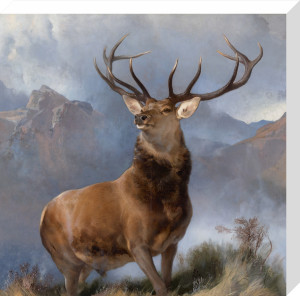 Monarch of the Glen, 1851 by Sir Edwin Henry Landseer