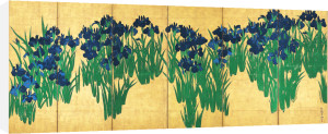 Iris by Ogata Korin