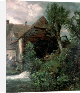 Watermill at Gillingham, Dorset by John Constable