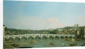 Westminster Bridge from the North by Giovanni Canaletto