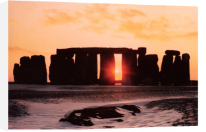 Stonehenge, Winter Solstice by Anonymous