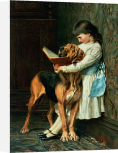 Naughty Boy or Compulsory Education by Briton Riviere