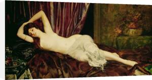 Reclining Nude by Ignace-Henri-Théodore Fantin-Latour