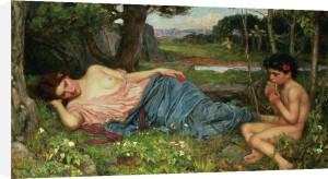 Listen to my Sweet Pipings, 1911 by John William Waterhouse