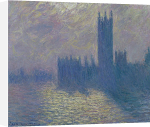 The Houses of Parliament, Stormy Sky, 1904 by Claude Monet