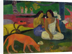 Arearea (The Red Dog), 1892 by Paul Gauguin