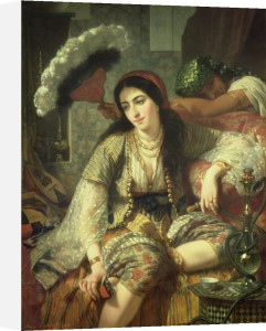 Odalisque by Jean Baptiste Ange Tissier