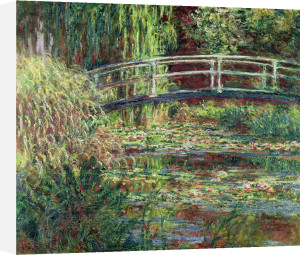 Waterlily Pond: Pink Harmony, 1900 by Claude Monet