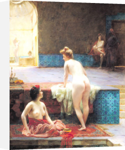 The Turkish Bath, 1896 by Serkis Diranian