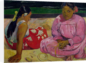 Women of Tahiti, On the Beach, 1891 by Paul Gauguin