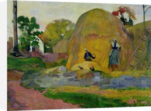 Yellow Haystacks, or Golden Harvest, 1889 by Paul Gauguin