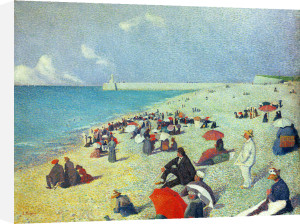 On The Beach by Leon Pourtau
