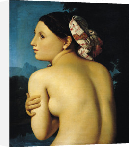 Female nude, 1807 by Jean-Auguste-Dominique Ingres