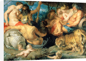 The Four Continents, 1615 by Peter Paul Rubens