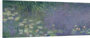 Waterlilies: Morning, 1914 by Claude Monet