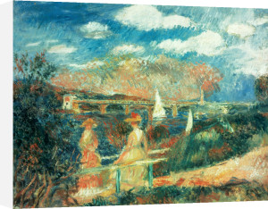 The Banks of the Seine at Argenteuil, 1880 by Pierre Auguste Renoir