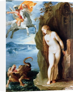 Perseus Rescuing Andromeda, 1602 by Guiseppe Cesari