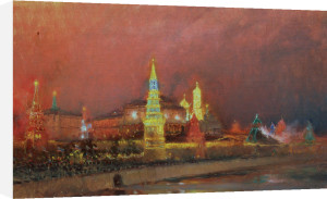 Illumination in the Kremlin, 1896 by Nikolai Nikolaevich Gritsenko
