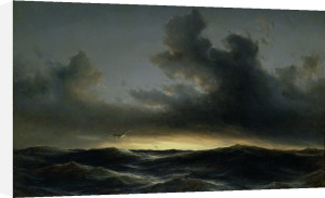 Marine Solitude, 1852 by Anton Melbye